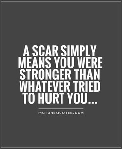A SCAR SIMPLY 