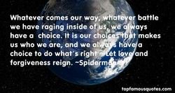 Whatever comes our way;4ffbt9 