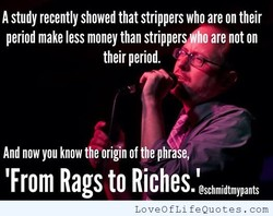 A study recently showed that strippers who are on their 