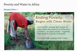 Poverty and Water in Africa 