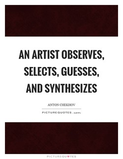 AN ARTIST OBSERVES, 