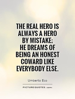 THE REAL HERO IS 