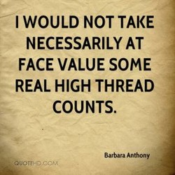I WOULD NOT TAKE 