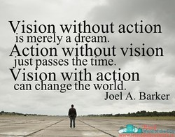 Vision wilhout action 
