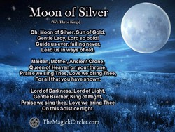 Moon of Silver 