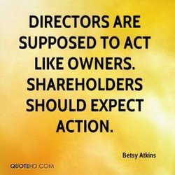 DIRECTORS ARE 