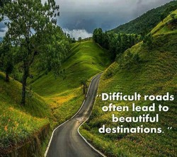 'Difficult roads 
