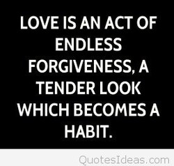 LOVE IS AN ACT OF 