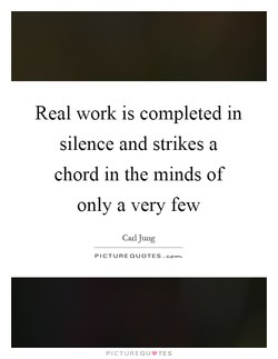Real work is completed in 