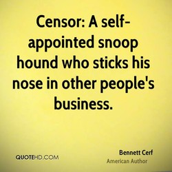 Censor: A self- 