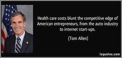 Health care costs blunt the competitive edge of 