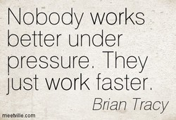 Nobody works 