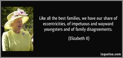 Like all the best families, we have our share of 