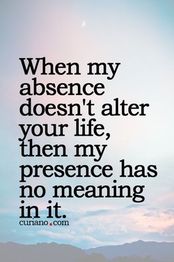 When my 