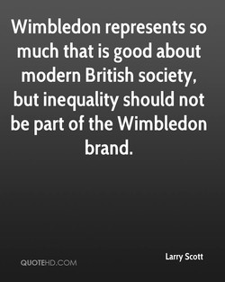 Wimbledon represents so 