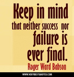 Keep in mind 