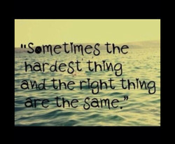 *'Sometimes the 