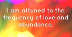 lam attuned to the 