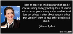 That's an aspect of this business which can be 