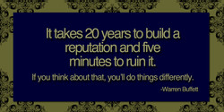 It takes 20 years to build a 