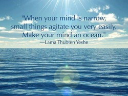 YWhen your mind is na ow; 