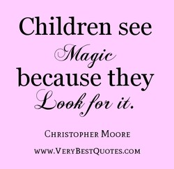 Children see