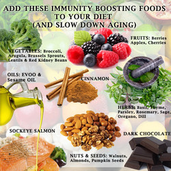 ADD THESE IMMUNITY BOOSTING FOODS 