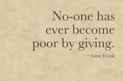 No-one has 