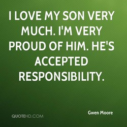 I LOVE my SON VERY 