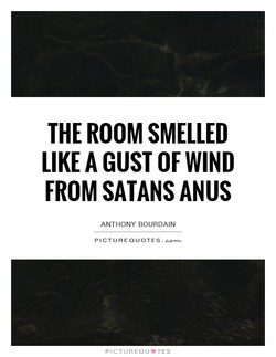 THE ROOM SMELLED 