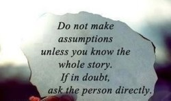 Do not make 