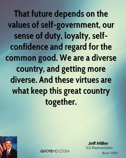That future depends on the 