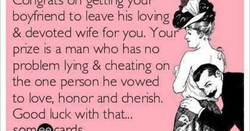 boyfriend to leave his loving 