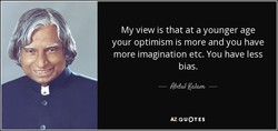 My view is that at a younger age 