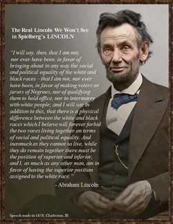 The Real Lincoln We Won 't See in Spielberg's LINCOLN