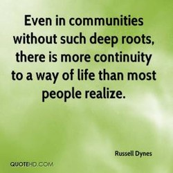 Even in communities 