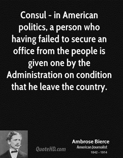 Consul - in American 