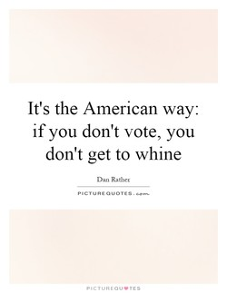 It's the American way: 