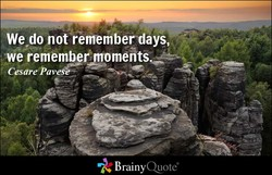 We do not rememberdays, 