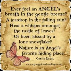 Ever feel an ANGEL's 