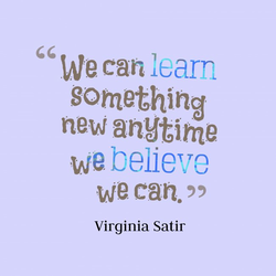 We can learn 