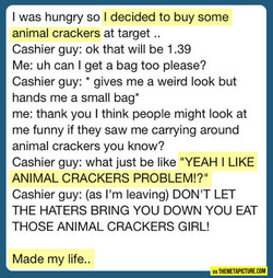 I was hungry so I decided to buy some 
