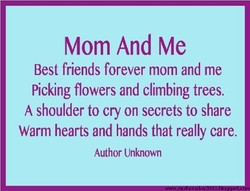 Mom And Me 