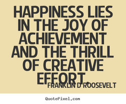 HAPPINESS LIES 