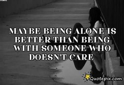 MAYBE BEING ALO IS 