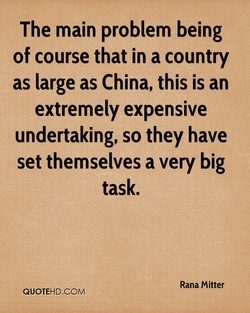 The main problem being 