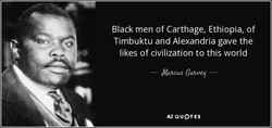 Black men of Carthage, Ethiopia, of 