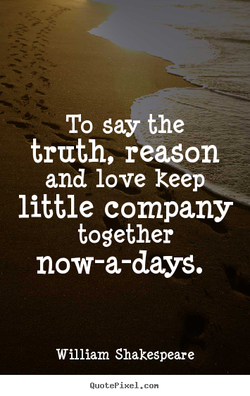 To say the 