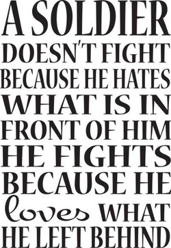 A SOLDIER 