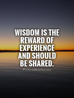 WISDOM IS THE 